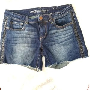 American Eagles Outfitters Shorts Jeans Sz 10